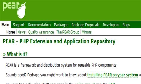 tutorial php pear fundamental php tools techniques and tips that no one