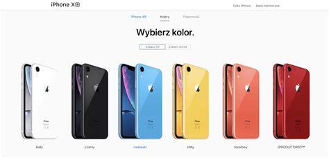 ruszyła przedsprzedaż iphone a xr czyli tego tańszego telefonu apple a