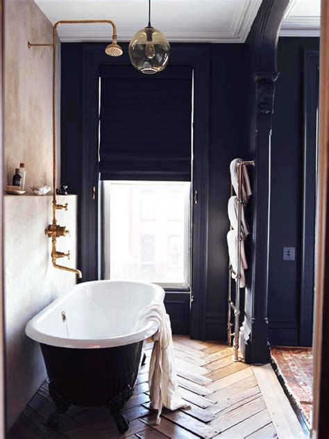 Vintage Modern Bathroom by Get The Look B W Vintage Modern Bathroom Deuce Cities