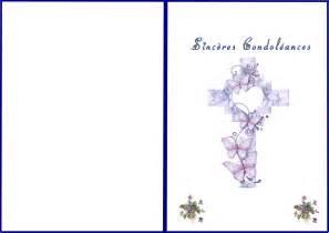 Modeles De Lettre Pour Condoleances Carte Condol 233 Ances 224 Imprimer Faire Part De Deces Gratuit A Imprimer