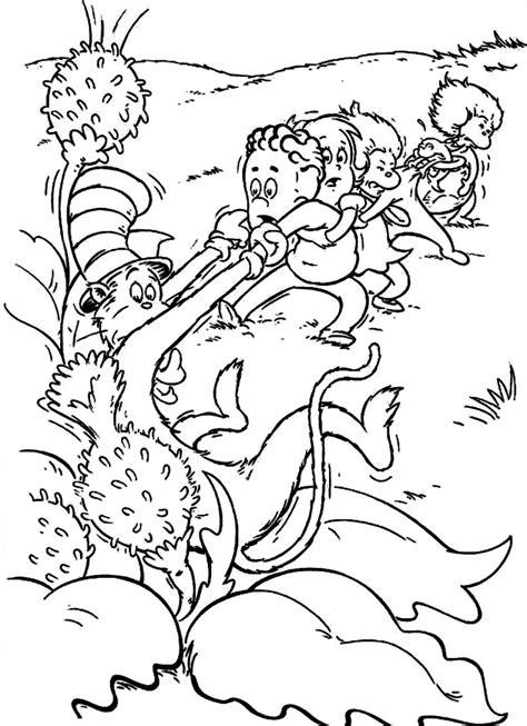 dr seuss coloring pages for kids az coloring pages