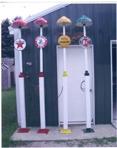 vintage gas station lights gas pumps and stations on pinterest gas pumps old gas