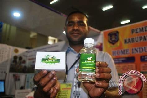 Minyak Kelapa Murni Di Pasaran sarmi mengandalkan produk olahan kelapa murni di pameran icbe antara news papua