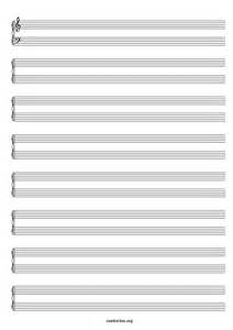 Blank Sheet Piano And Voice by Printable Blank Piano Sheet Paper