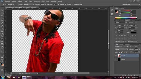 como sacar imagenes sin fondo como quitar el fondo a una imagen en photoshop cs6 youtube