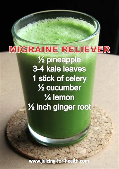 Juice Fast Detox Headache by Migraine Reliever Smoothie Pictures Photos And Images