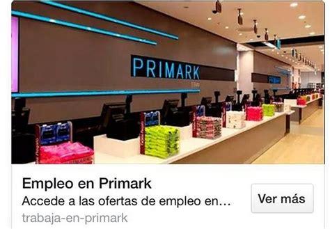 oficina de empleo algeciras primark busca personal para trabajar en sus tiendas de