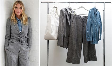 Gwyneth Paltrows Clothes Are On Sale by Gwyneth Paltrow S Goop Launches Clothing Line The