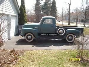 Chevrolet 1 2 Ton 1954 Chevrolet 1 2 Ton Condition