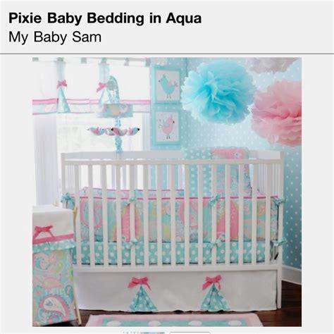 my baby sam bedding my baby sam pixie baby in aqua 3 piece crib bedding set by