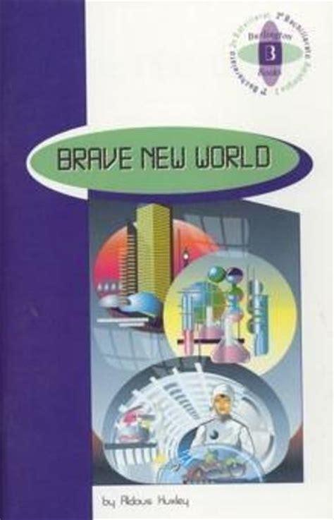 brave new world 2 186 bachillerato aldous huxley comprar libro en fnac es