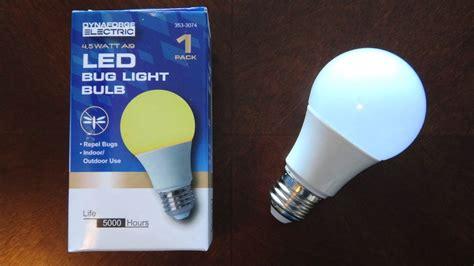 yellow led bug light dynaforge electric yellow led bug light bulb