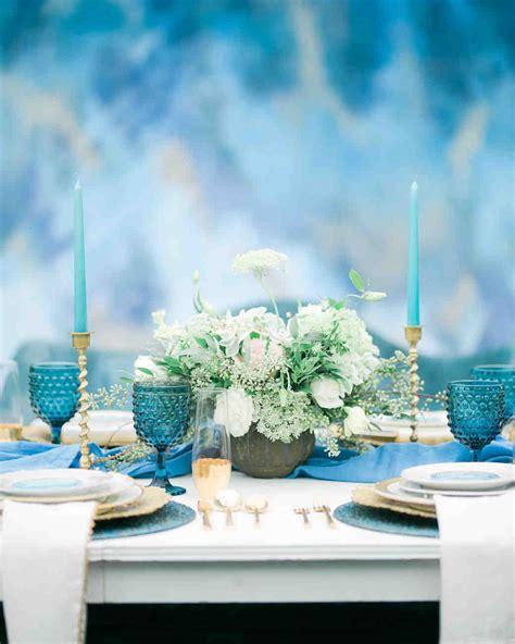 cool blue wedding ideas youll love martha stewart