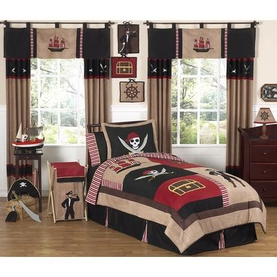 pirate bedroom set pirate treasure cove full queen bedding collection