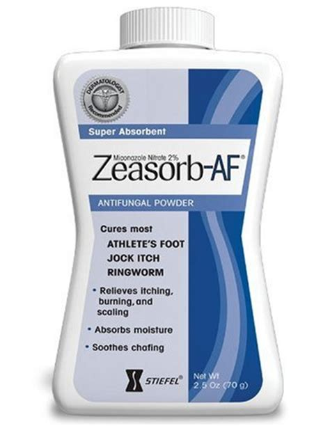 Pdf Zeasorb Af Powder Ingredients by Itch Treatments Stores Zeasorb Af Antifungal Powder