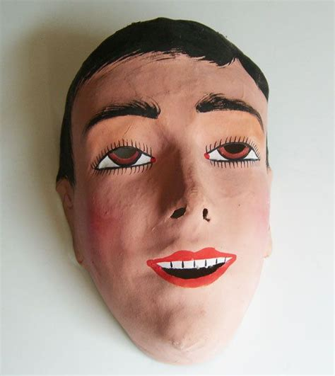 How To Make Cara Mask With Paper - 25 best ideas about paper mache mask on