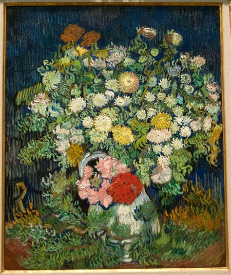 Gogh Vase Of Flowers by File Wla Metmuseum Vincent Gogh Bouquet Of Flowers In