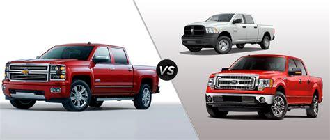 compare trucks silverado 1500 vs f150 vs ram 1500 chevrolet compare the chevy silverado and ford f 150 sir walter