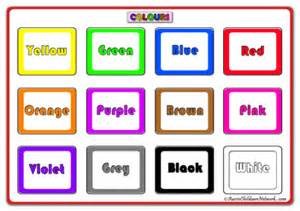 toddler color chart pics for gt color chart for