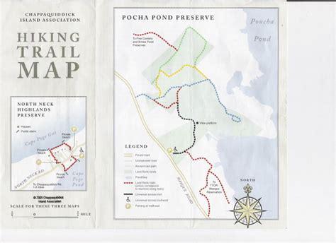 Chappaquiddick Walking Trails Facts