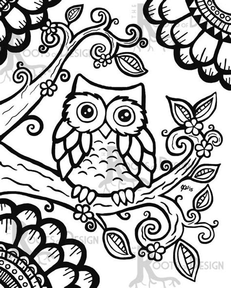 coloring pages for adults easy 25 unique owl coloring pages ideas on free