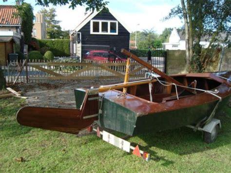 houten zeilboot houten zeilboot advertentie 478011