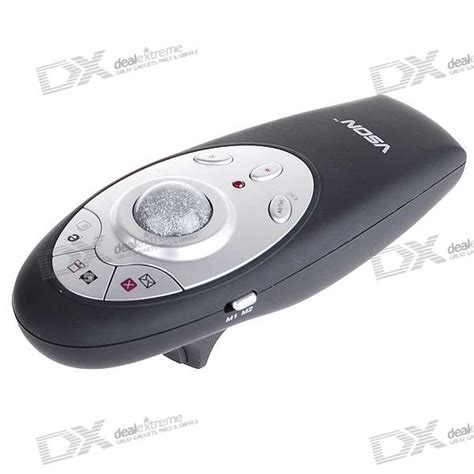 Wireless Mouse Pointer vson v 820 2 4ghz rf wireless presenter with laser pointer and remote mouse 2 aaa free