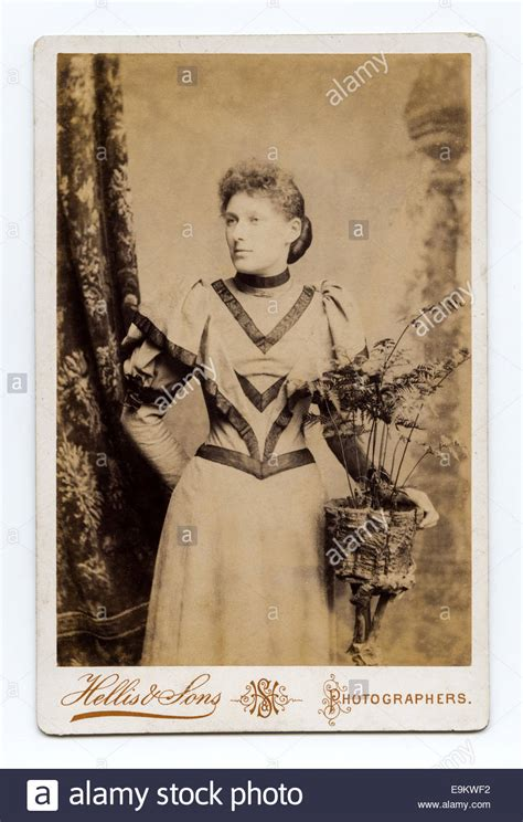 Cabinet Cards by Cabinet Card Studio Portrait Of A