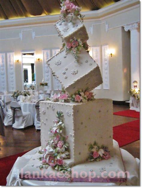 Wedding Cake Structures by 3 Tier Box Type Wedding Cake Structure Sri Lanka