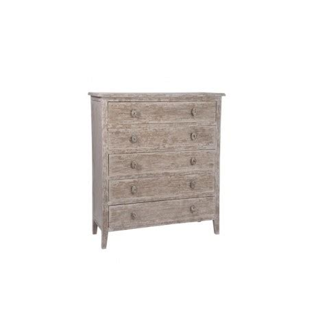 Etagere Industriel 1045 by Meuble 5 Tiroirs Bois Naturel Wash 104 5x40 5x116cm J Line