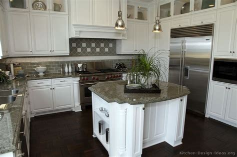 White Kitchen Cabinet Pictures Pictures Of Kitchens Traditional White Kitchen Cabinets Page 4