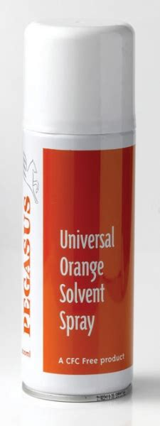 Sprei No 1 Pegasus pegasus orange solvent spray 200ml