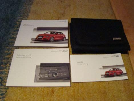 Audi A1 Bedienungsanleitung by Betriebsanleitung Bordbuch F 252 R Audi A1 Biete Car Audio