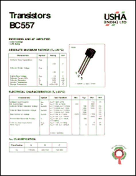 Bc557 C Philips usha bc557 datasheet