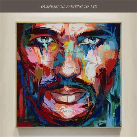 the human canvas wf home new pop painted portrait