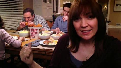 kfc commercial actress kfc family feast tv spot a real family dinner ispot tv