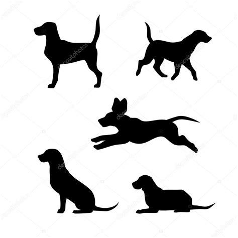 ra 231 a de um silhuetas de vetor cachorro beagle vetor de