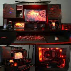 Gaming Desk Setup Ideas by 25 Best Gaming Setup Ideas On Pinterest Pc Gaming Setup
