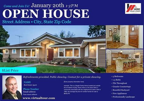 Free Open House Post Card Templates by Open House Postcard Template Dealupapp