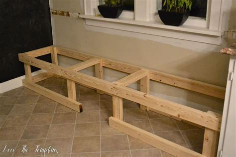 breakfast nook woodworking plans how i built a built in bench hometalk