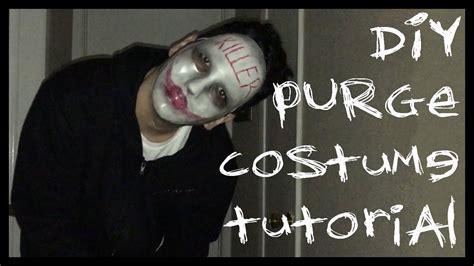 diy purge halloween costume tutorial cheap easy