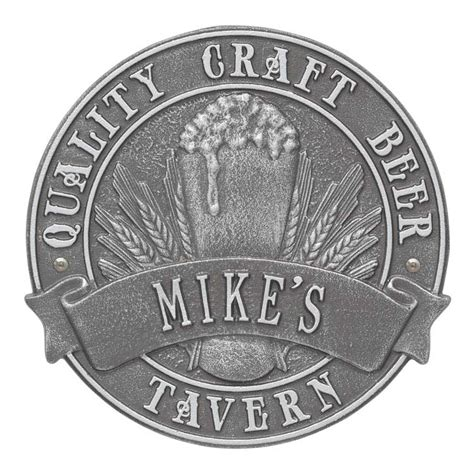 Brewers Quality Homes by Craft Tavern Plaque