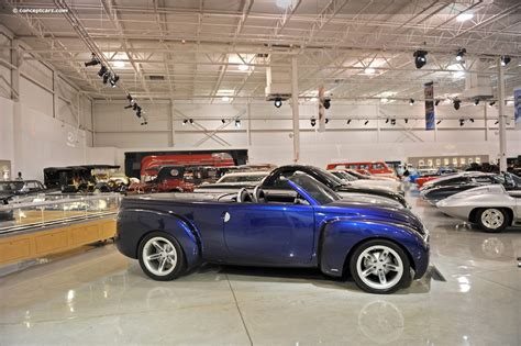 chevrolet ssr concept   gm heritage museum
