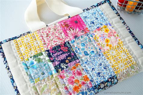 Quilted Bag Pattern by Quilted Book Bag Pattern Favecrafts