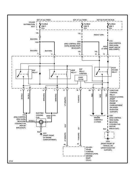 1997 ford thunderbird wiring diagram wiring diagram with