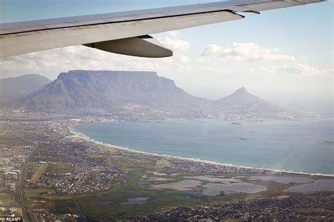 most scenic views in cape town the most beautiful airport approaches in the world daily