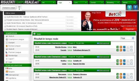 direttamobile risultati in tempo reale html it risultati in tempo reale