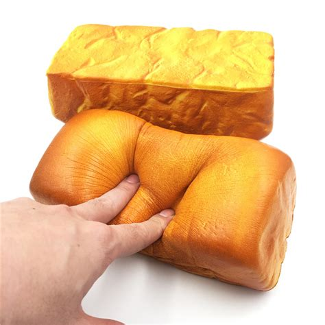 Squishy Jumbo Ibloom Breadoll Original squishyfun squishy jumbo toast bread 20cm rising original packaging collection gift decor