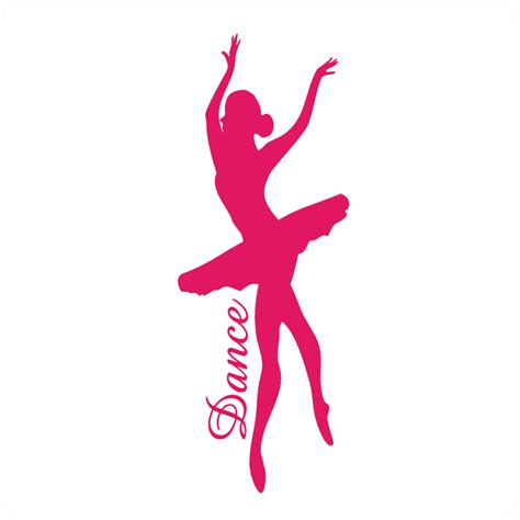Wall Art And Stickers ballerina pics cliparts co