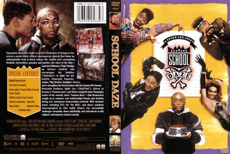 school daze the realites of being a 1st year books school daze dvd scanned covers 1322school daze